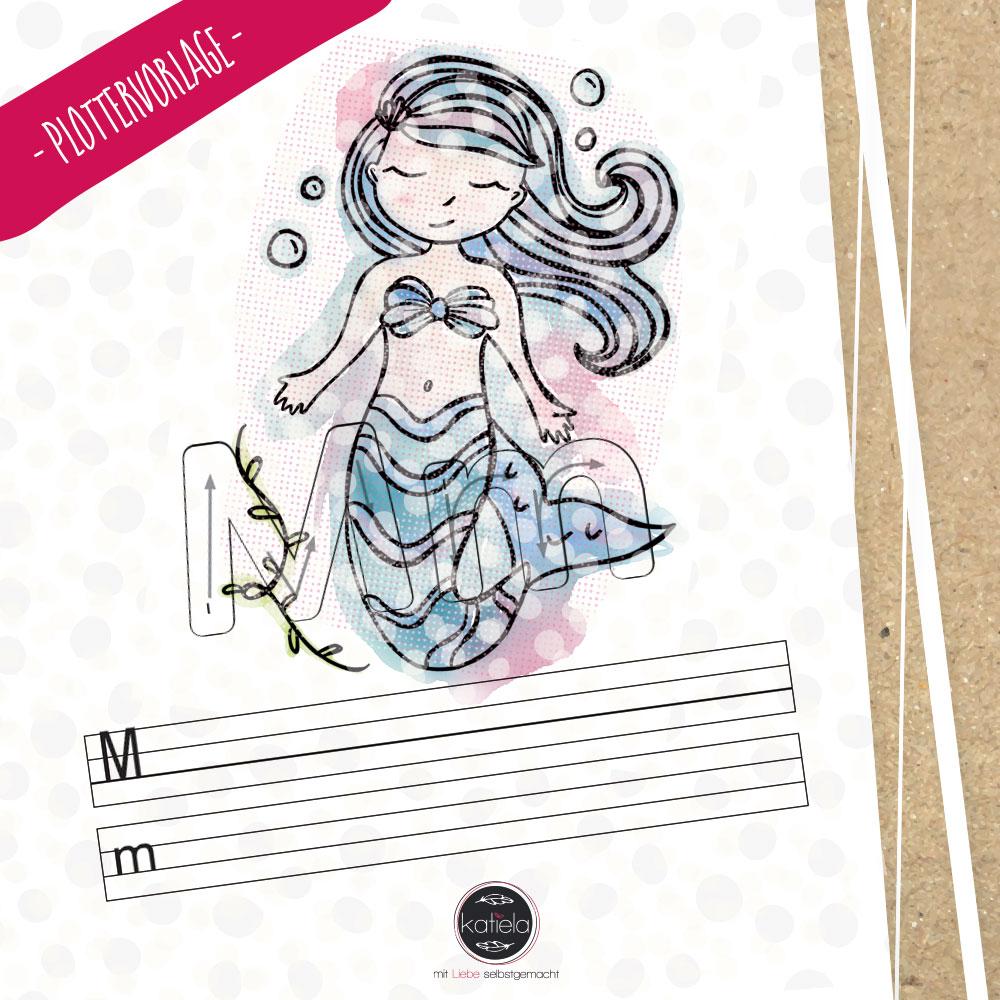 M wie Meerjungfrau - das Entdecker ABC von shesmile (Freebie) - Katiela