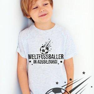 Plottervorlage Weltfussballer in Ausbildung